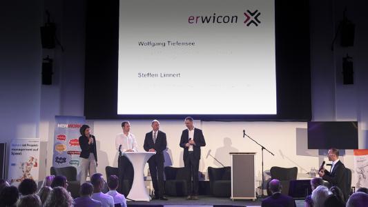 erwicon 2017: Eine neue Arbeitswelt kommt