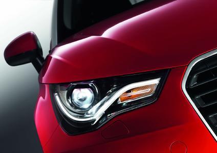 Der neue Audi A1 mit LED-Lichtleiter