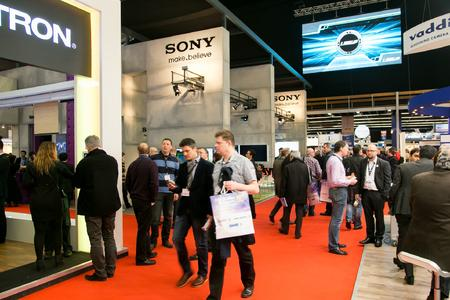 ISE 2013 - Messehalle / Bilder: Integrated Systems Events