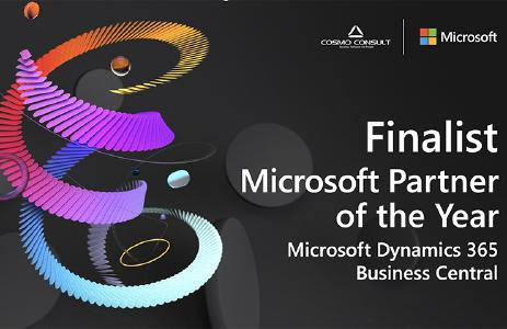 COSMO CONSULT Finalist bei Microsofts Global Partner of the Year Awards