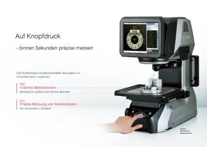 Neuer digitaler Messprojektor IM-7000