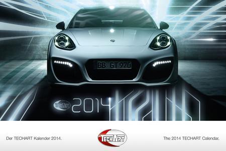 TECHART Wandkalender 2014