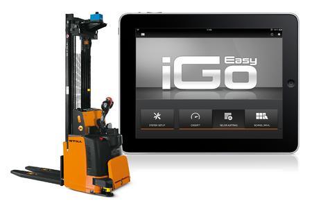 iGoEasy - intuitiv bedien-, installier- und anpassbar mit einem iPad, Foto: STILL GmbH
