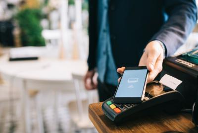 Contactless payment is establishing itself as a new standard in the DACH region