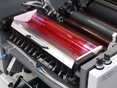 Constantly high printing quality: The ink and moisture volume control in the W+D 232 adapts automatically to production speed