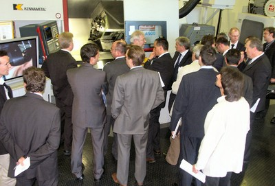 Kennametal Aerospace Machining Symposium in Nürnberg / Fürth