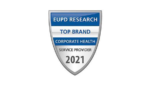 "Rogator erhält das Qualitätssiegel ""Top Brand Corporate Health 2021"""