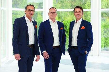 Geschäftsführung Lothar Kübler, Martin Huth, Gebhard Kübler
