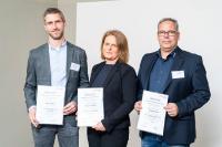 v.l.n.r. Morten Stiller, Stephanie König, Thomas Scharf  (Photo: Bernd Roselieb/GEFMA)