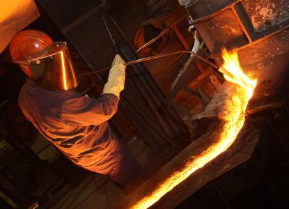 Ausbildung in der Gießerei bei der TROMPETTER GUSS Chemnitz GmbH