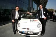 Early Bird-Gewinner: Klaus Stein, Leiter Einkauf Hansen & Gieraths EDV Vertriebs GmbH, Bonn  - 1 Jahr Fiat 500 Cabrio fahren