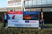 Night Star Express Hellmann BV-CEO Patrick Löwenthal  (rechts im Bild) und Richard Kremer Chief Executive Officer (CEO) Kremer BV