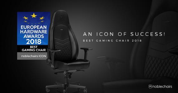 Caseking Gratuliert Der Noblechairs Icon Ist Der Beste Gaming Stuhl