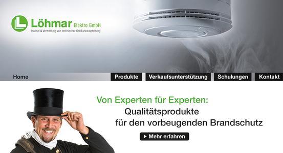 Neuer Internetauftritt von Löhmar für Schornsteinfeger