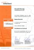 Auszeichnung Innovationspreis 2007- Kategorie Umwelttechnik