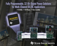 TI Digital Signal Controller Provides Unprecedented Level of Integration for Complex Point-of-Load Applications