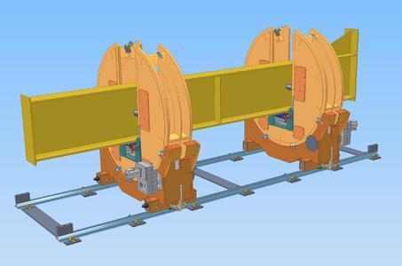 Neuer Stahlbaupositionierer Typ CPST-20 kN mit flexibler