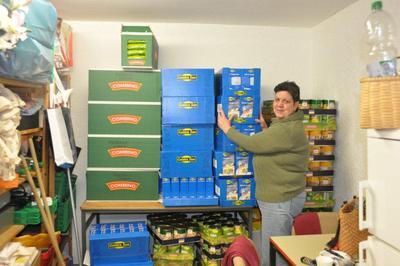 ISD Weihnachtsaktion 2010 zu Gunsten der Ludwigshafener Tafel