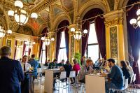 Networking und Austausch der einmaligen Optimierer-Community in den imposanten Räumlichkeiten der Alten Oper
