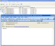 Ein Mausklick genügt, um die archivierten E-Mails zu öffnen.