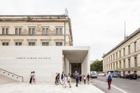Blick in den unteren Säulengang Foto: Ute Zscharnt for David Chipperfield Architects