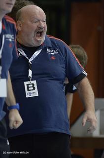Ein enttäuschter Frank Bergemann, © Foto: Sportfoto Zink Fürth