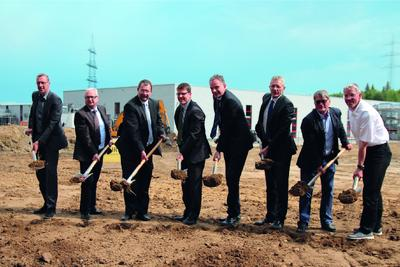 Start of construction of world's largest factory for PCD tools