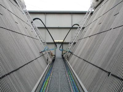 JetMaster AS – Automated Air condenser cleaning at EEW Hannover (Image: mycon GmbH)