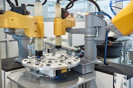 Bei Toolcraft laufen die Filtersysteme vollautomatisiert vom Band