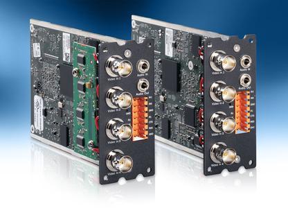 Neuer modularer VIPX1600 XF H.264-Encoder mit hardwarebeschleunigter Videoanalyse von Bosch / Höhere Leistung bei besserer Bildqualität, geringerer Bandbreite und weniger Speicherplatzbedarf