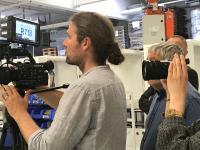 Dreharbeiten bei Efficient Energy in Feldkirchen bei München