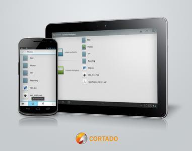 Cortado Workplace 3.0 für Android bietet einen noch schnelleren Dateizugriff, Auto Upload und Download, PDFs erstellen und mehr