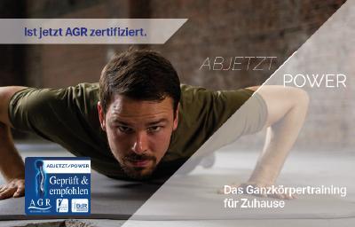 ABJETZT/POWER jetzt AGR zertifiziert.