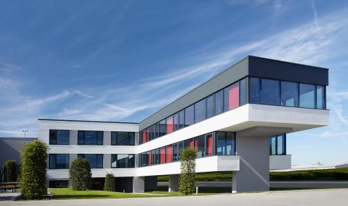 View of 4Packaging's modern office building in Germany