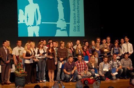 Die besten Azubis 2012 aus dem Hohenlohekreis wurden geehrt in der Kultura in Öhringen
