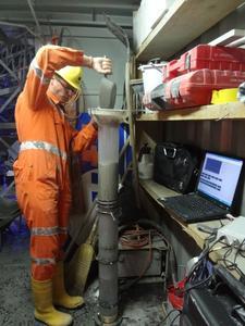 Sliper Test zur Ermittlung der Pumpfähigkeit des Betons