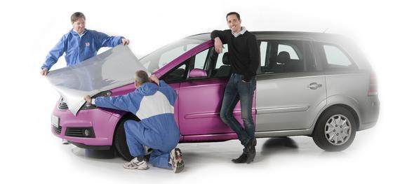Eine Vollfolierung schützt den Originallack und verringert dadurch den Wertverlust des Autos, Foto: 3M