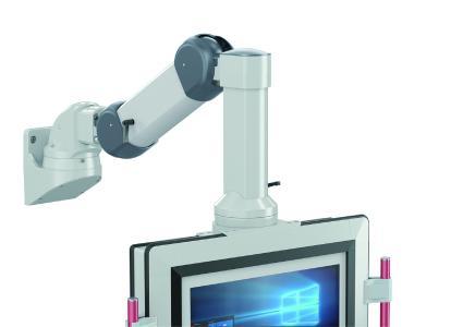 Das Höhenverstellsystem GTV light von ROSE sorgt für ergonomisches Arbeiten und lässt sich leicht an unterschiedliche Anforderungen anpassen