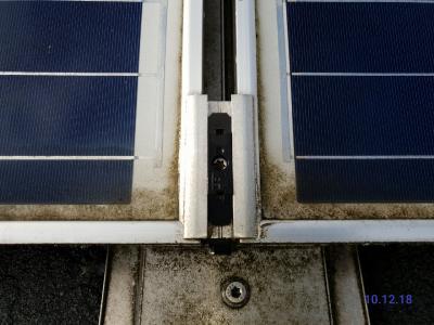 Ost West Solaranlagen nach 4 Jahren