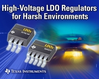 TI Introduces High Voltage-Input LDO Regulators for Harsh Environments