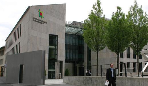 Zentrale der LLB in Vaduz (Quelle: Presse- und Informationsamt, Vaduz)