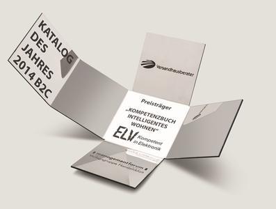 """Award """"Katalog des Jahres 2014 B2C"""""""