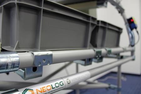 Kanalgrößen können beliebig definiert werden (Bildquelle: NeoLog)