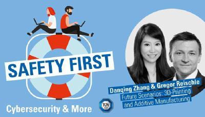"""TÜV SÜD-Podcast """"Safety First"""": Additive Manufacturing"""