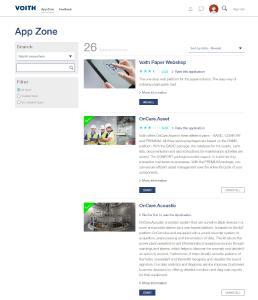 Das Dashboard von MyVoith ist einfach zu benutzen und kann personalisiert werden
