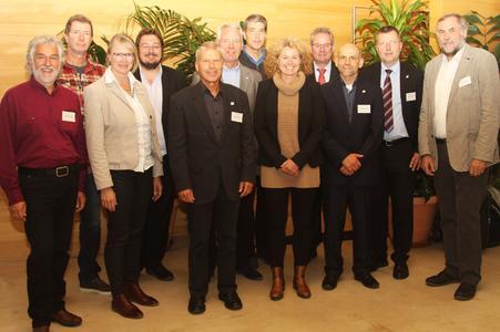 Referenten und Kooperationspartner der DDV-Veranstaltung, Bildquelle: Petra Reidel / Redaktionsbüro Blätterwerk