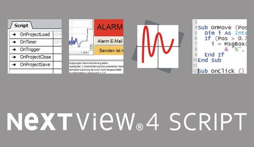 Event-oriented programming with NV4SCRIPT for measurement software NextView