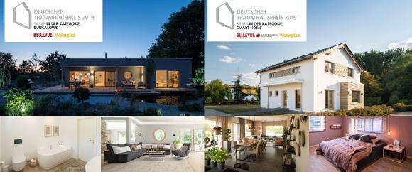 Deutscher Traumhauspreis 2019: Zweifach Silber für FingerHaus