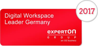 Experton zeichnet baramundi als Digital Workspace Leader Germany 2017 in der Kategorie Mobile Device Management Solutions aus