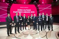 "Hitachi Data Systems gewinnt den ""T-Systems Zero Outage Partner Award 2016"""